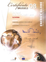 National Energy Globe Award 2008