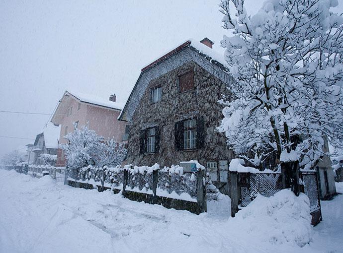 Hiša - zima
