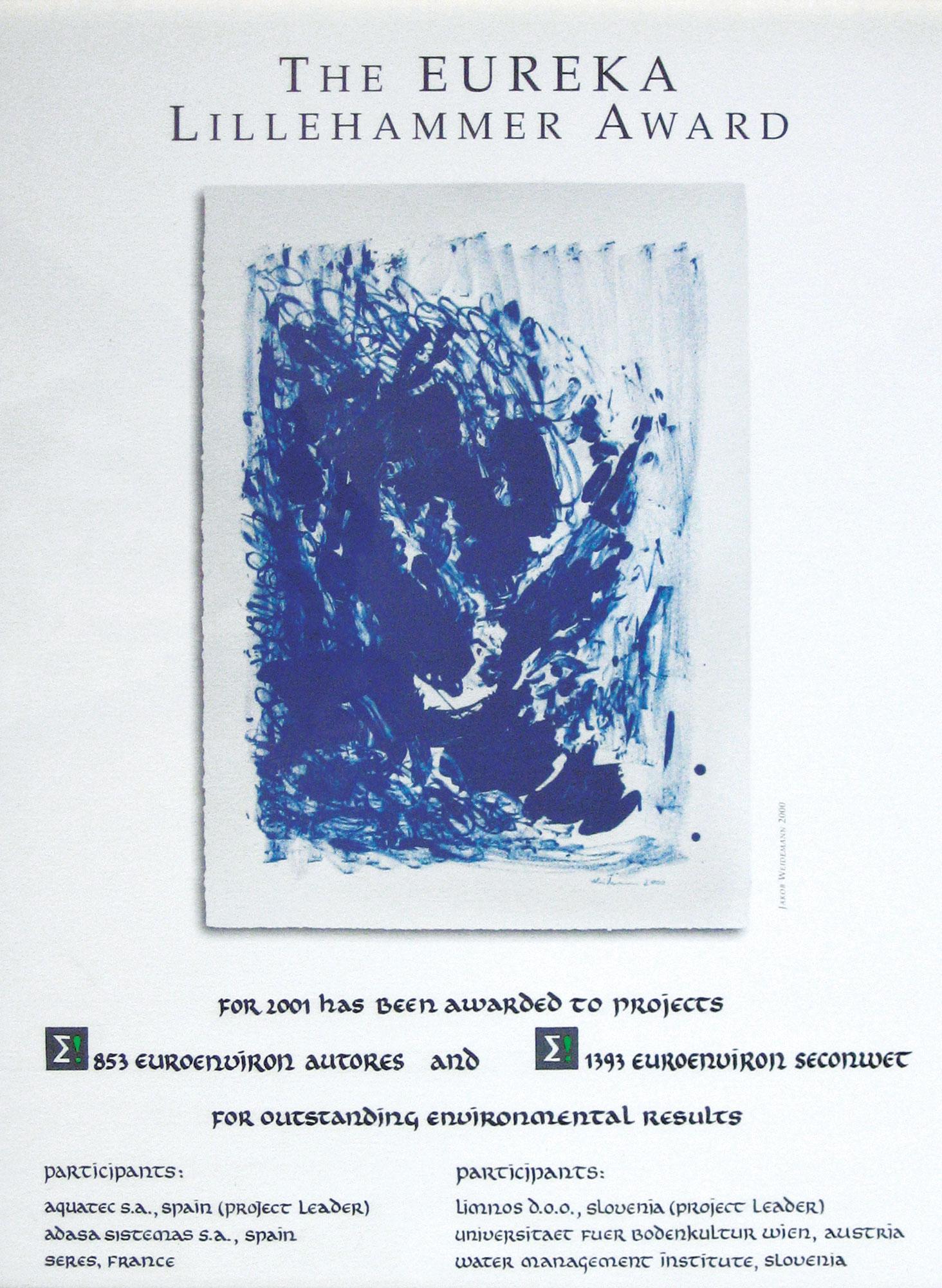 The Eureka Lillehammer Award 2001