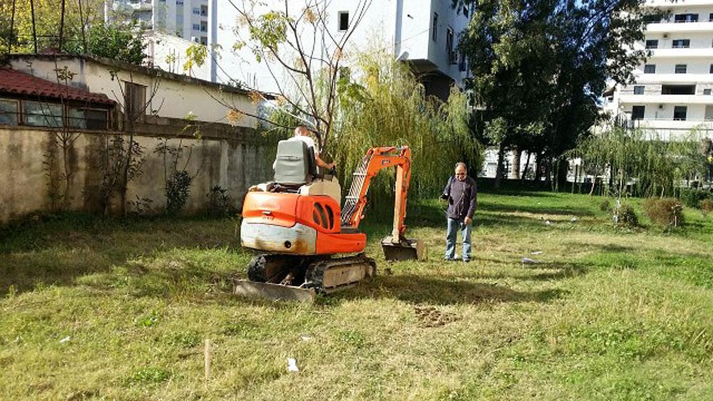 Gradnja prve rastlinske čistilne naprave Limnowet® v Albaniji