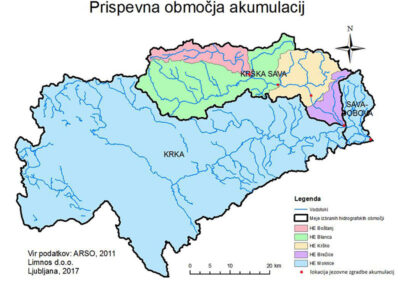 Long-term protection program for hydro power plants Krsko, Brezice and Mokrice water accumulations with ecoremediations