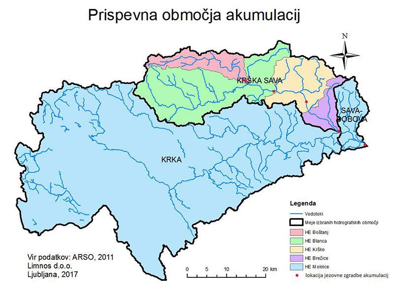 Dolgoročni program zaščite akumulacij HE Krško, Brežice in Mokrice z uporabo ekoremediacij
