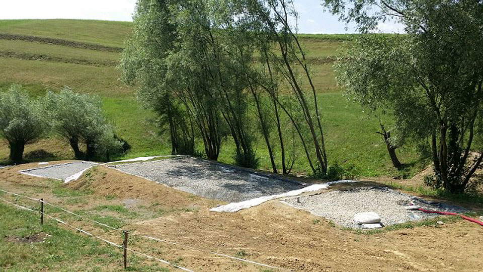 Construction of a Limnowet® constructed wetland for Kamenica village