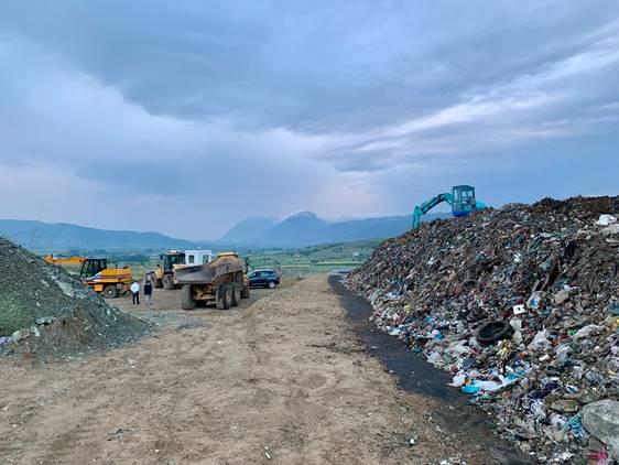 Finalising landfill reclamation case in Albania