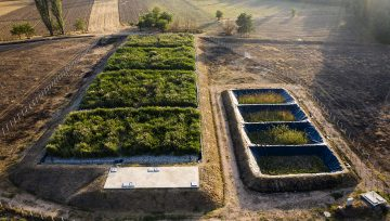 Constructed wetland LIMNOWET for Karbinci 1.100 PE, North Macedonia