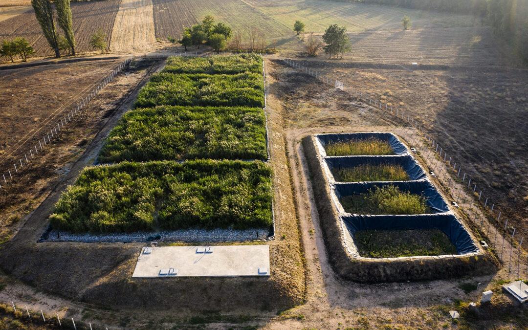 Constructed wetland LIMNOWET for Karbinci 1.100 PE, North Macedonia