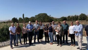 Zaključeno poskusno obratovanje dveh rastlinskih čistilnih naprav v Severni Makedoniji