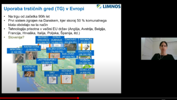 LIMNOS presented sustainable methods of sludge treatment on a webinar